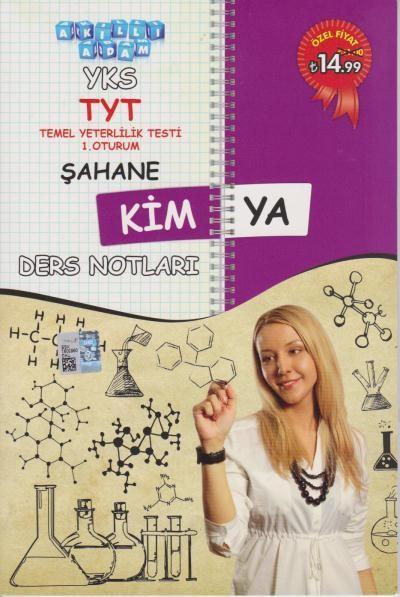 Akıllı Adam YKS TYT Şahane Kimya Ders Notları 1. Oturum