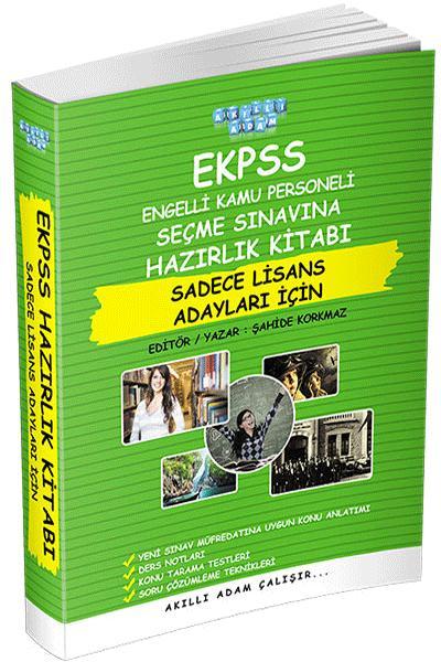 Akıllı Adam EKPSS Hazırlık Kitabı Sadece Lisans Adayları İçin