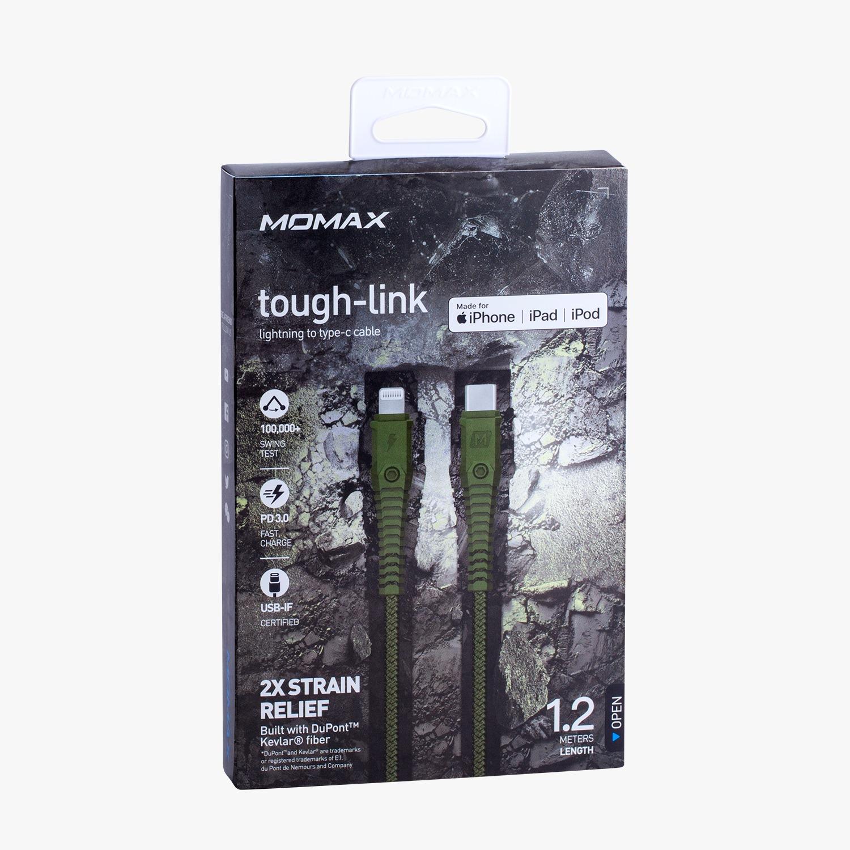 Momax Tough Link Lightning to Type-C Kablo