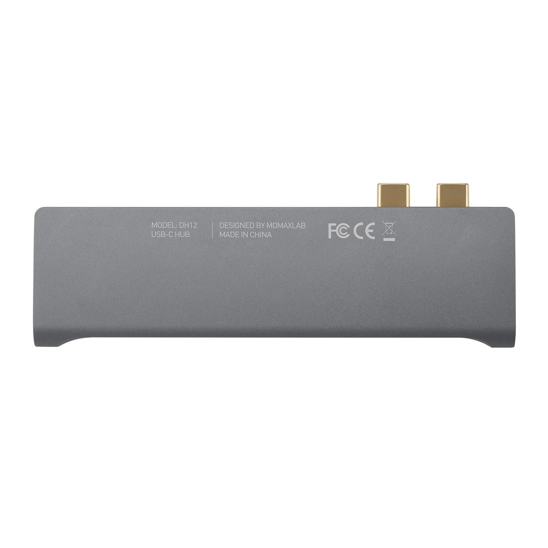 Momax OneLink 7 in 1 Dual USB-C HUB Çevirici