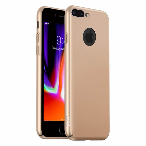 Buff iPhone 8 Plus Slim Fit Kılıf Gold