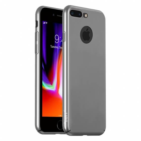 Buff iPhone 8 Plus Slim Fit Kılıf Silver