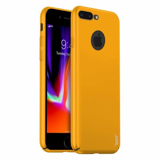 Buff iPhone 8 Plus Slim Fit Kılıf Yellow