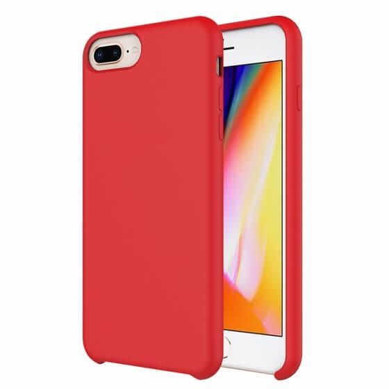 Buff iPhone 8 Plus / 7 Plus Rubber Fit Kılıf Red