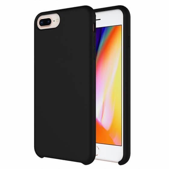 Buff iPhone 8 Plus / 7 Plus Rubber Fit Kılıf Black