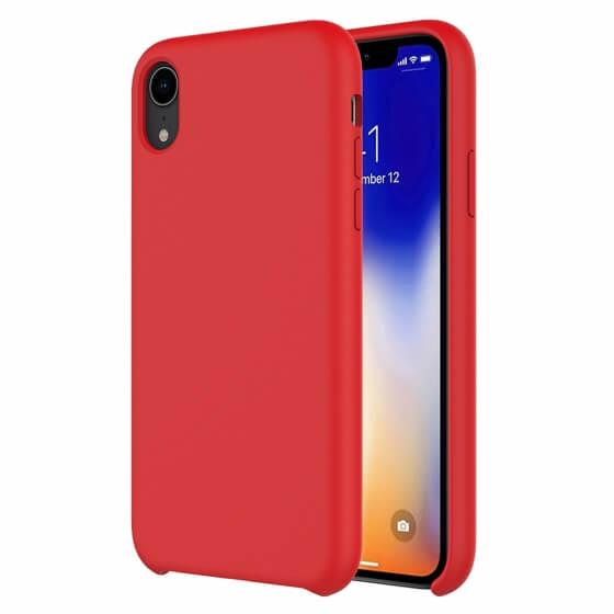 Buff iPhone XR Rubber Fit Kılıf Red