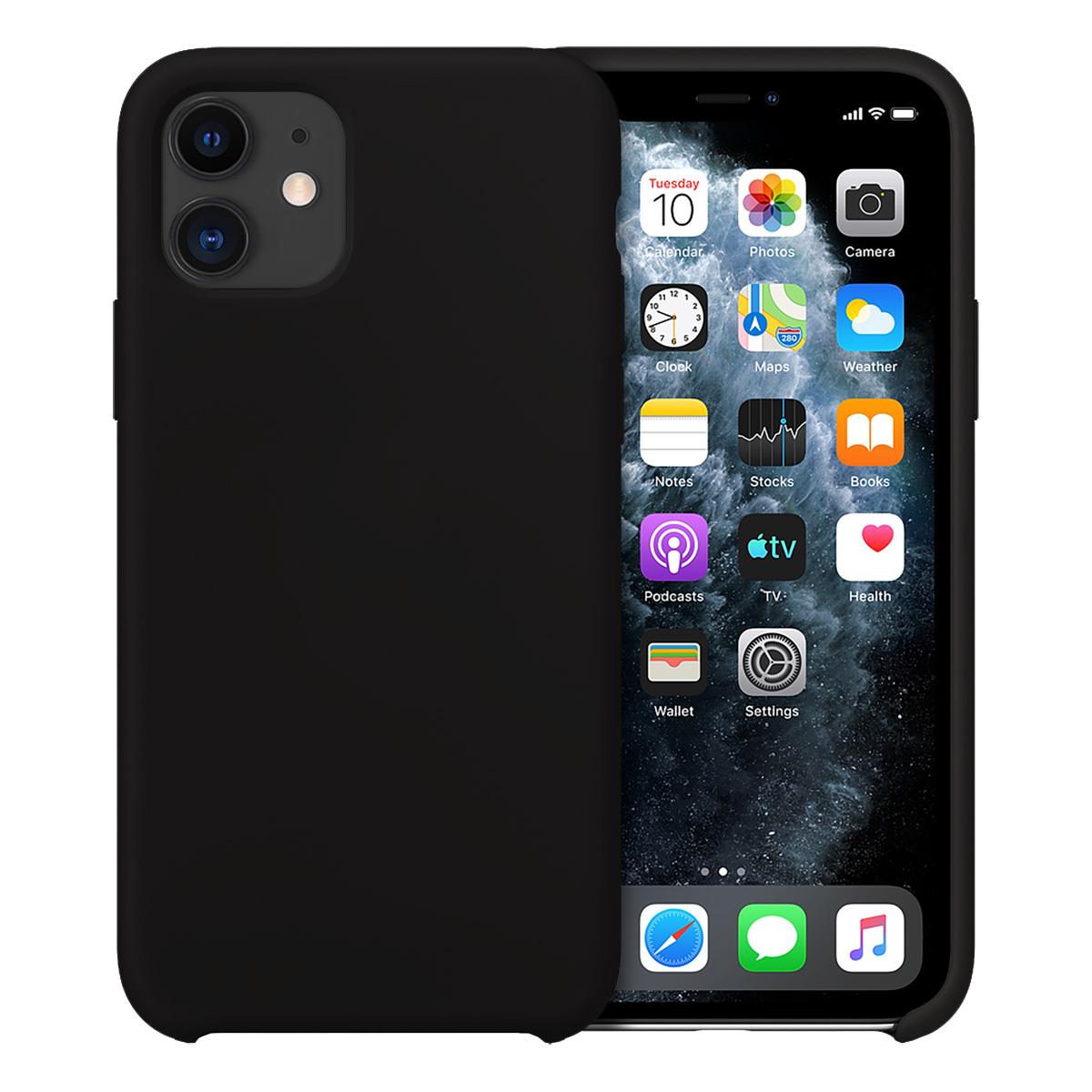 Buff iPhone 11 Rubber Fit Kılıf Black