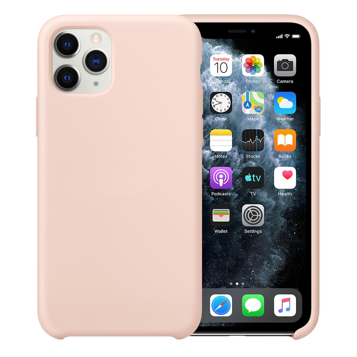 Buff iPhone 11 Pro Rubber Fit Kılıf Pink Sand