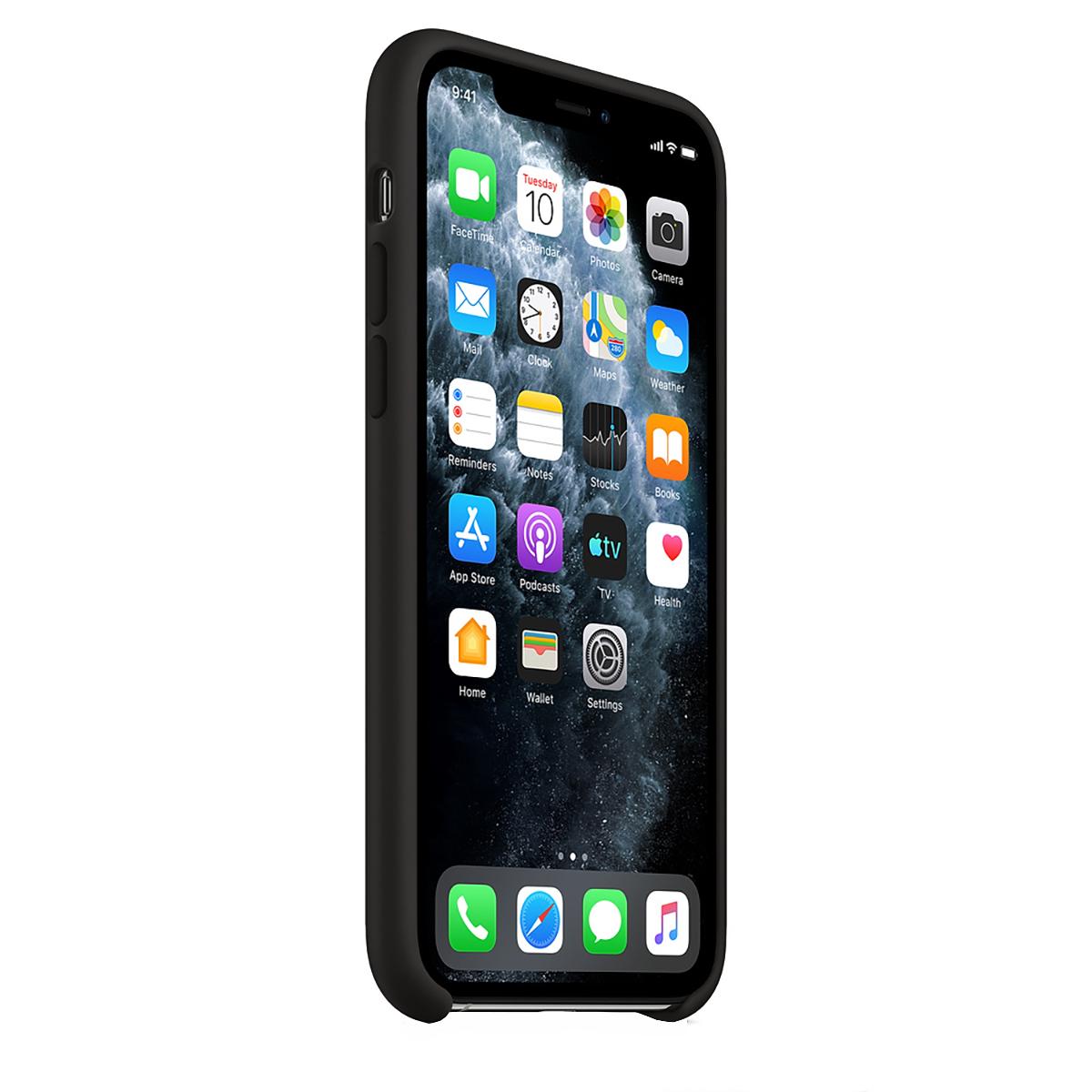 Buff iPhone 11 Pro Max Rubber Fit Kılıf Black