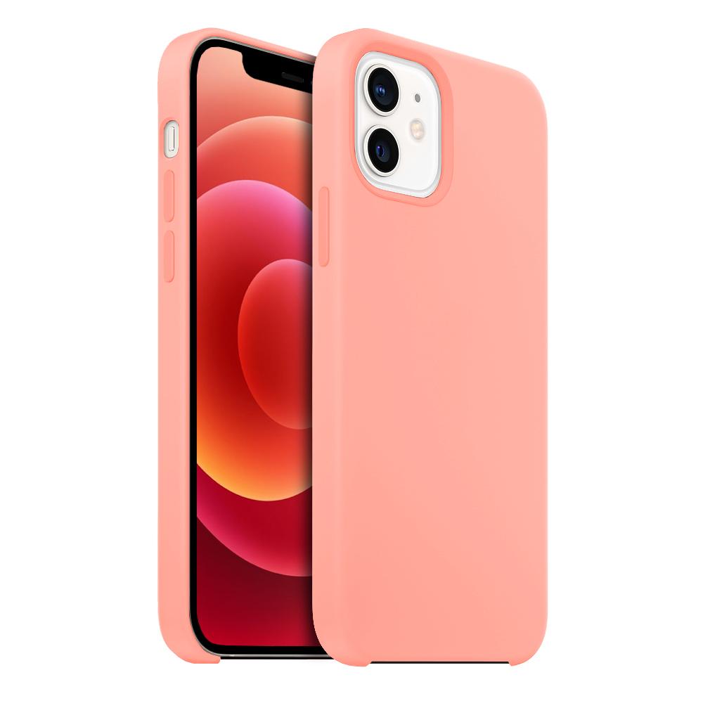 Buff iPhone 12 / 12 Pro Rubber Fit Kılıf Pink Sand