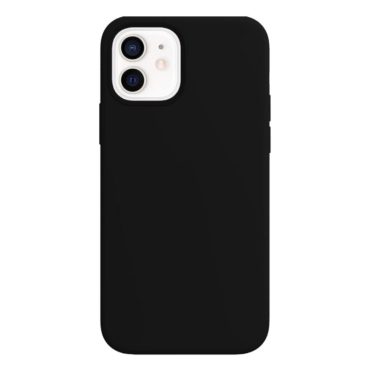 Buff iPhone 12 Mini Rubber S Kılıf Black
