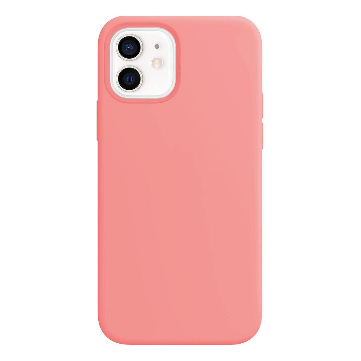Buff iPhone 12 Mini Rubber S Kılıf Pink