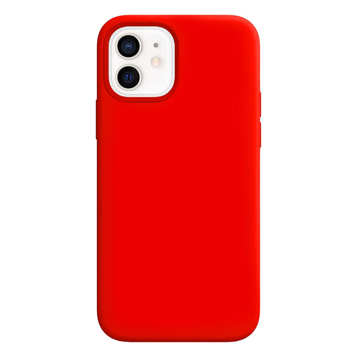 Buff iPhone 12 Mini Rubber S Kılıf Neon Orange