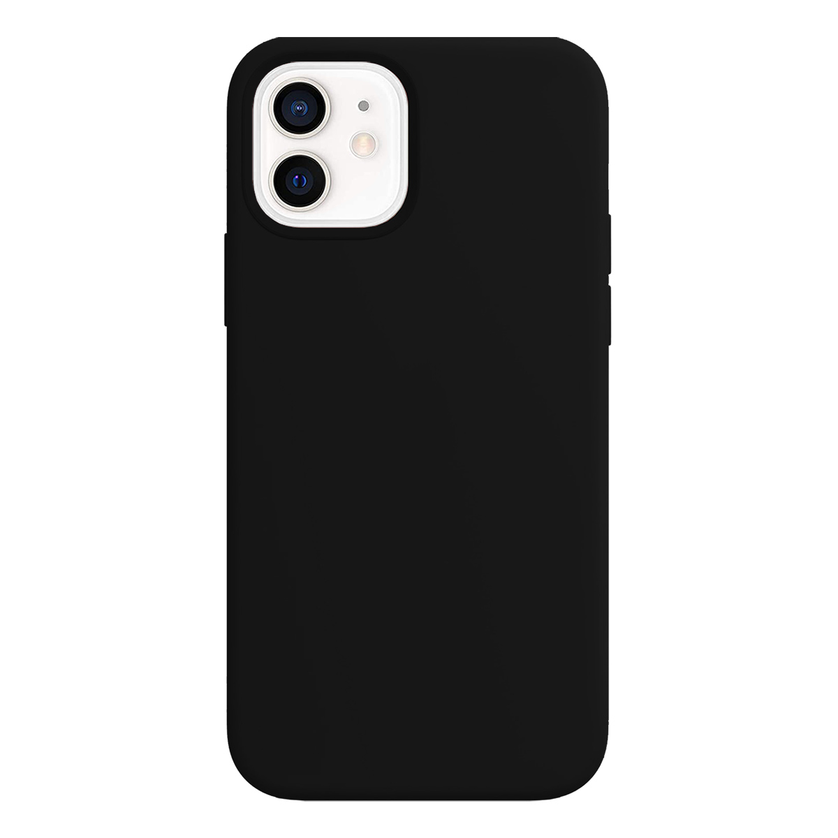 Buff iPhone 12 / 12 Pro Rubber S Kılıf Black