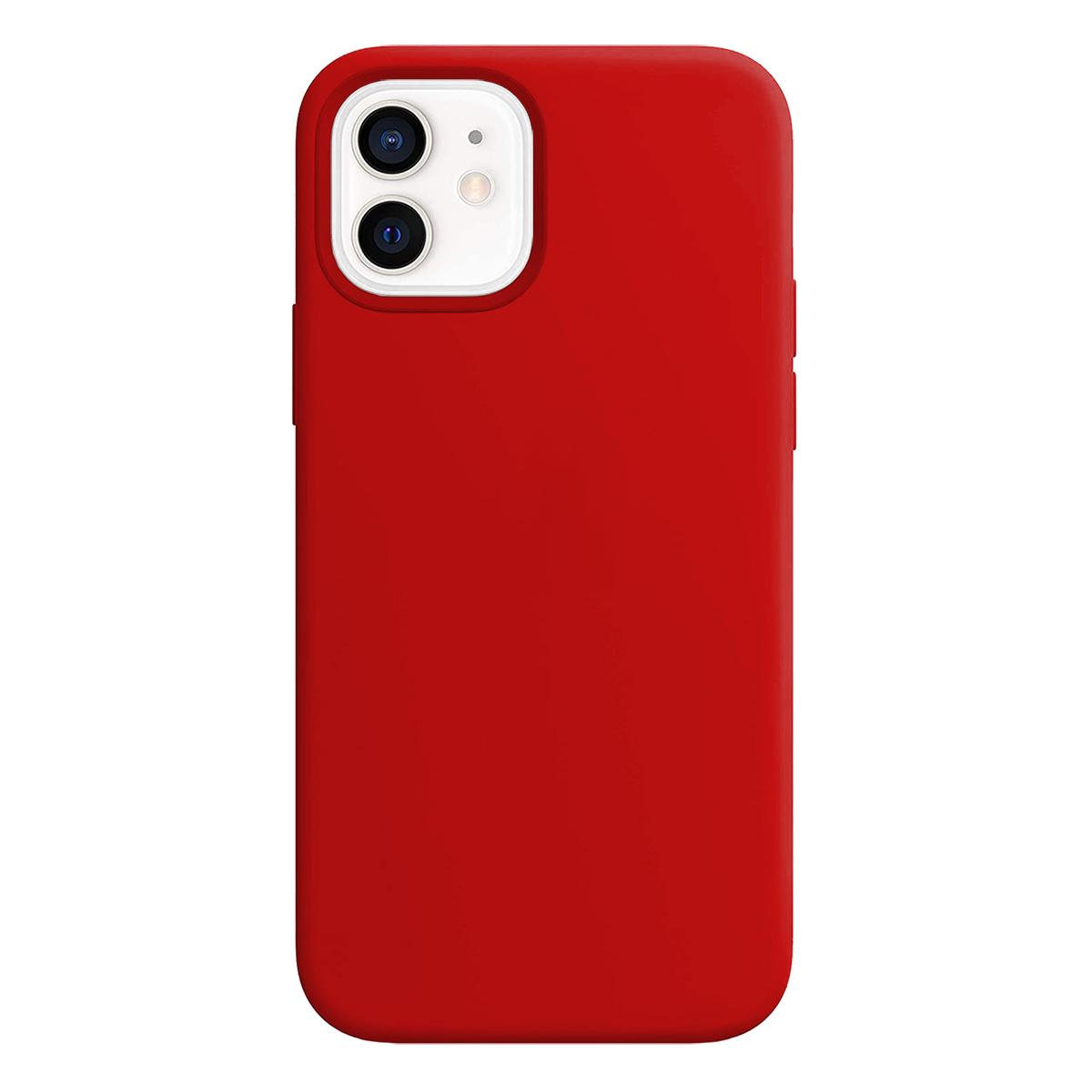 Buff iPhone 12 / 12 Pro Rubber S Kılıf Red