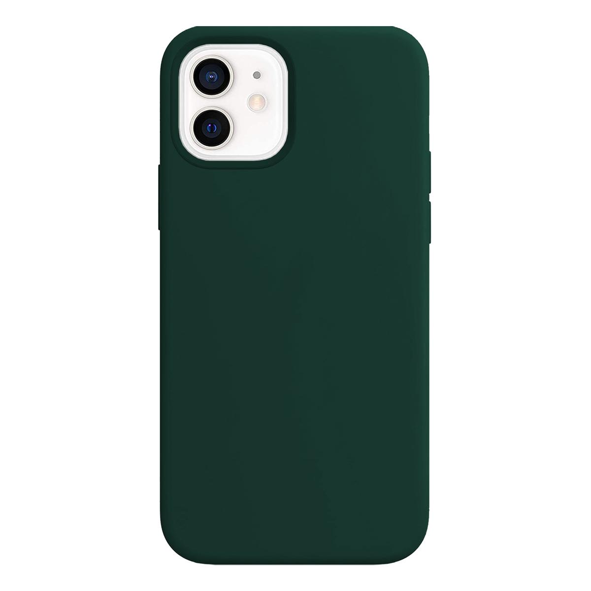 Buff iPhone 12 / 12 Pro Rubber S Kılıf Green