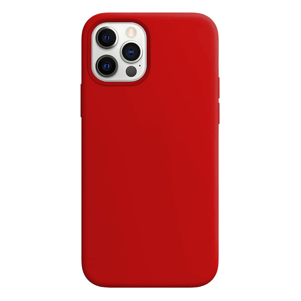 Buff iPhone 12 Pro Max Rubber S Kılıf Red