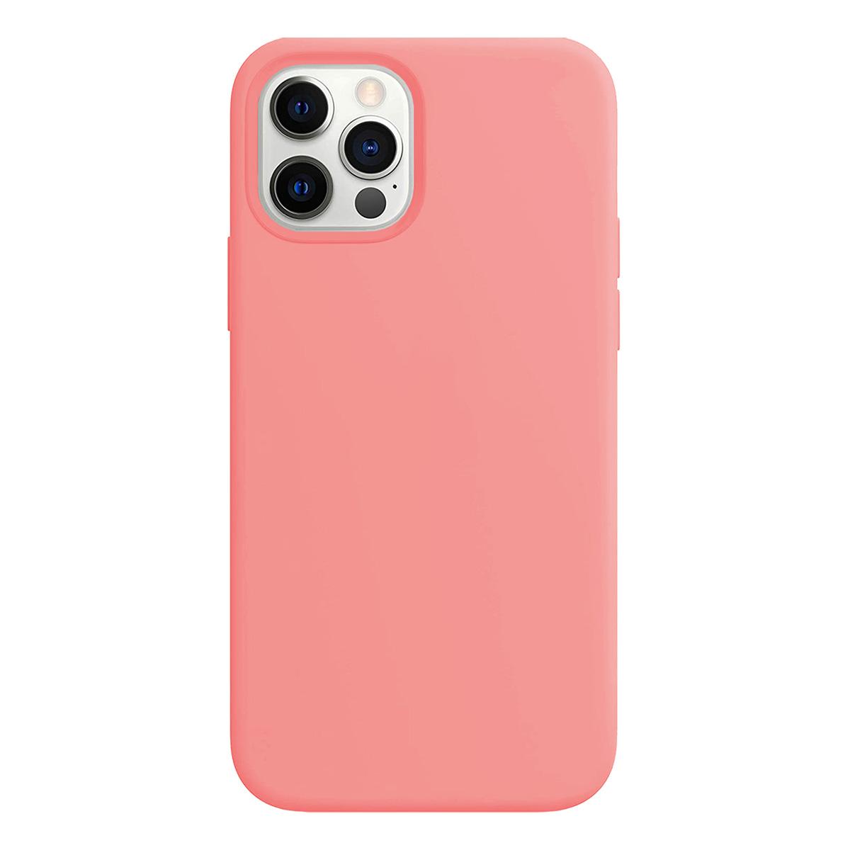 Buff iPhone 12 Pro Max Rubber S Kılıf Pink