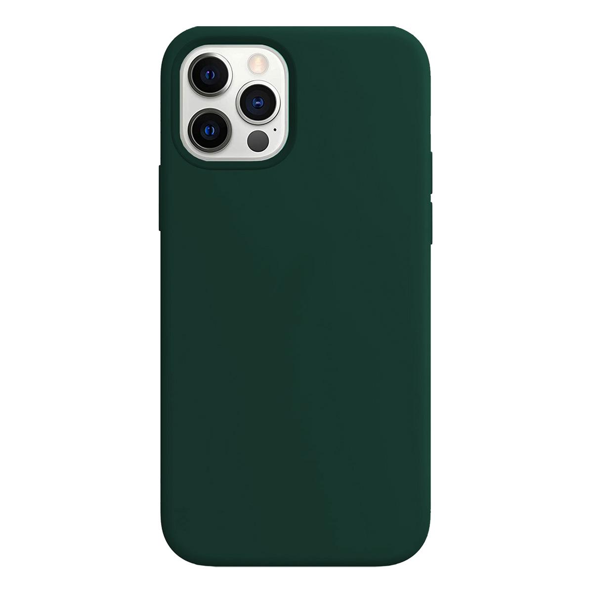 Buff iPhone 12 Pro Max Rubber S Kılıf Green