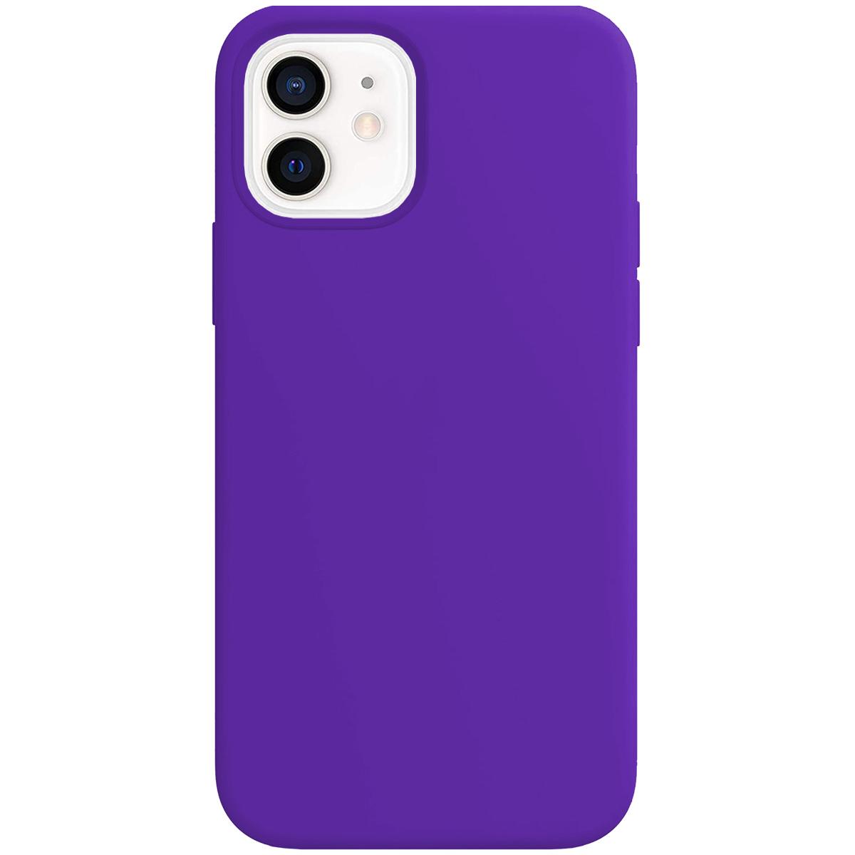 Buff iPhone 12 / 12 Pro Rubber S Kılıf Purple