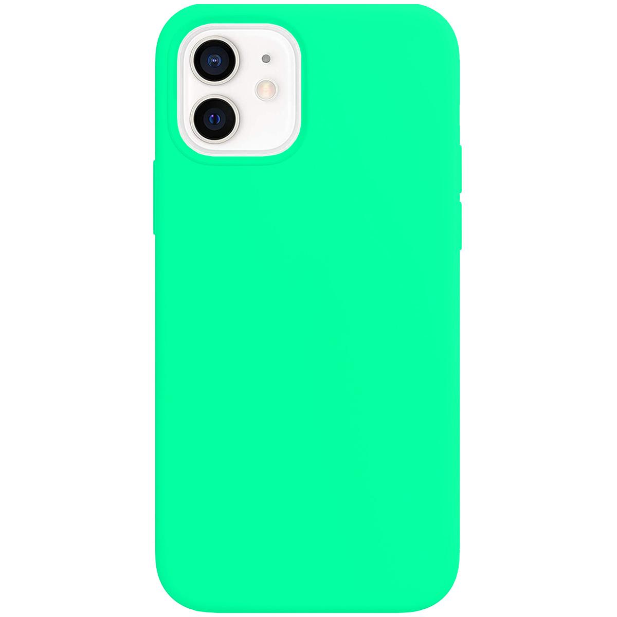 Buff iPhone 12 / 12 Pro Rubber S Kılıf Mint