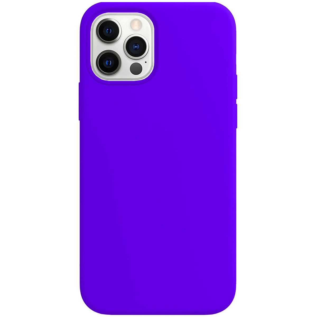 Buff iPhone 12 Pro Max Rubber S Kılıf Purple