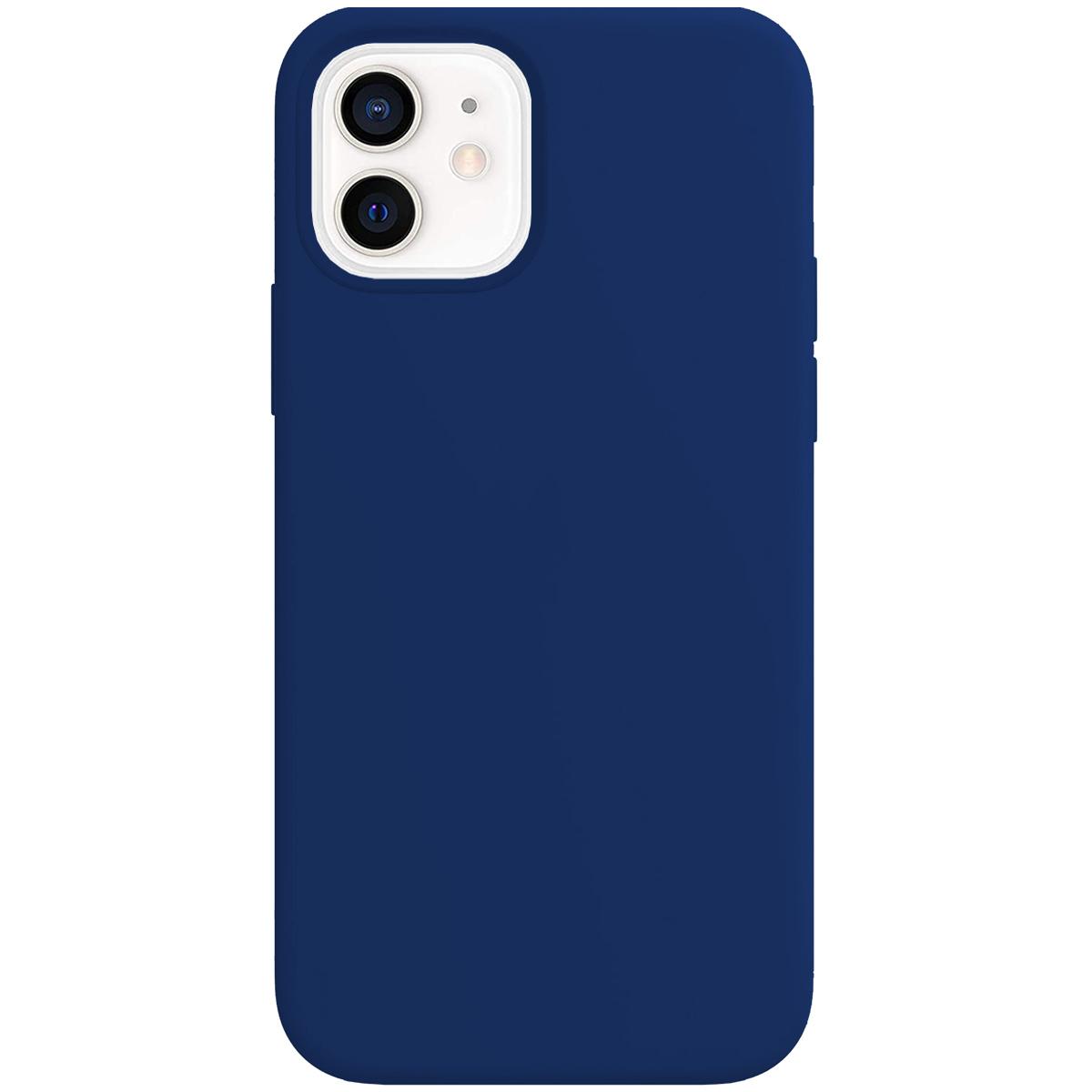 Buff iPhone 12 / 12 Pro Rubber S Kılıf Navy Blue