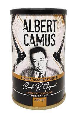 Kidega Yazarlar Serisi - Albert Camus - Türk Kahvesi (250gr - Teneke)