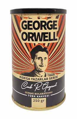 Kidega Yazarlar Serisi - George Orwell - Türk Kahvesi (250gr - Teneke)