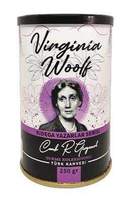 Kidega Yazarlar Serisi - Virginia Woolf - Türk Kahvesi (250gr - Teneke)