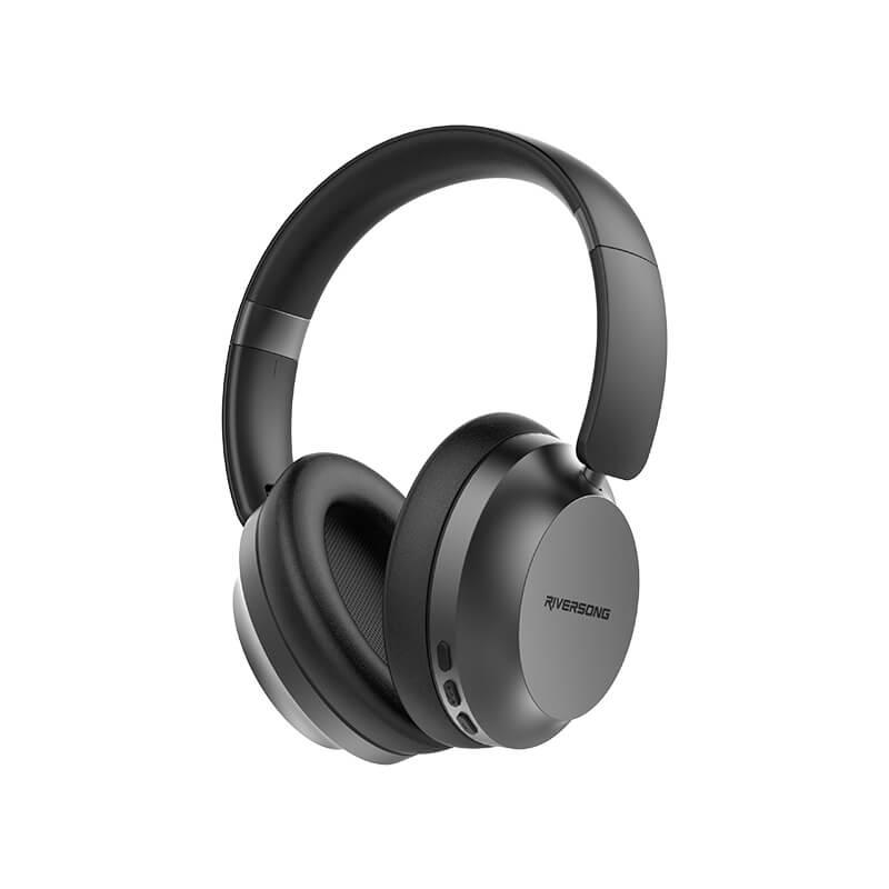 Riversong RHYTHM S EA56 HD Ses Kalitesi Kulak Üstü Bluetooth Kulaklık Siyah