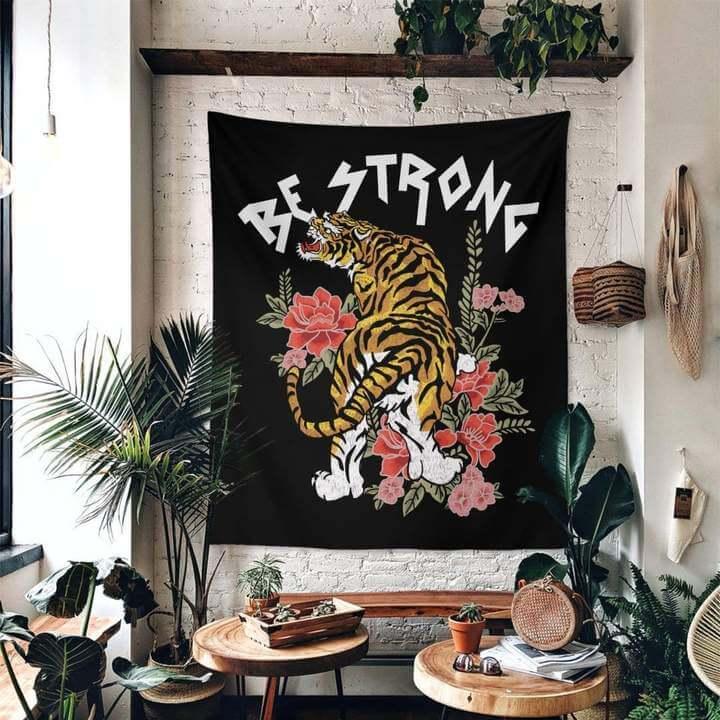 Be Strong Duvar Örtüsü