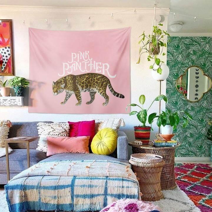 Pink Panther Duvar Örtüsü