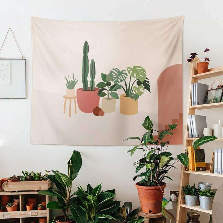 Plants Duvar Örtüsü