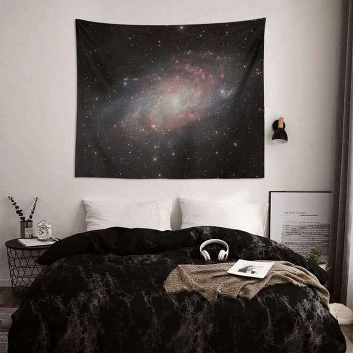 Triangulum Galaxy Duvar Örtüsü
