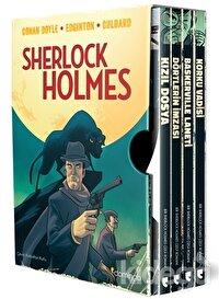 Sherlock Holmes Kutulu Set (4 Kitap Takım)