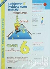 İlköğretim İngilizce Konu Testleri 6 / English Practice Sheets