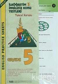 İlköğretim 5 İngilizce Konu Testleri