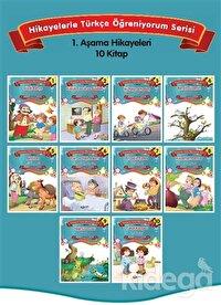 Hikayelerle Türkçe Öğreniyorum (10 Kitap Set )