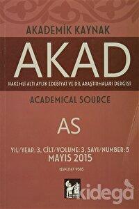Akad Akademik Kaynak Dergisi Sayı: 5
