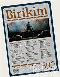 Birikim Aylık Edebiyat Kültür Dergisi Sayı: 390 Ekim 2021