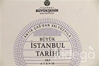 Büyük İstanbul Tarihi Ansiklopedisi 6-7-8-9-10 Cilt 115 GR