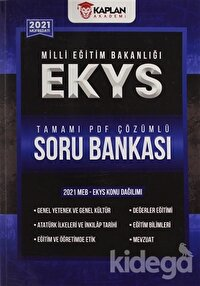 2021 EKYS (MEB Müdür-Müdür Yardımcılığı) Tamamı PDF Çözümlü Soru Bankası