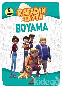 Rafadan Tayfa Boyama Seti (5 Kitap Takım)
