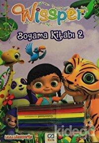 Wissper Boyama Kitabı 1-2 (Boyama Kalemi Hediyeli)