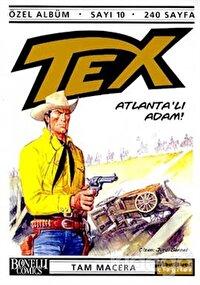 Tex Özel Albüm Sayı: 10  Atlanta'lı Adam!