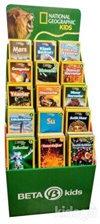 National Geographic Kids - Okuma Kitapları Stantı (180 Kitap)