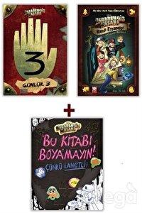 Disney - Esrarengiz Kasaba Seti (3 Kitap Takım)
