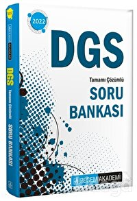 2022 DGS Tamamı Çözümlü Soru Bankası