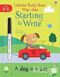 Early Years Wipe Clean Starting To Write